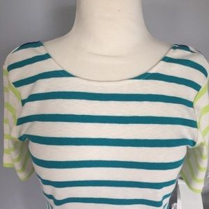 FRENCH CONNECTION striped t- shirt NWT S preppy
